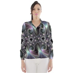 Precious Spiral Wallpaper Wind Breaker (women)
