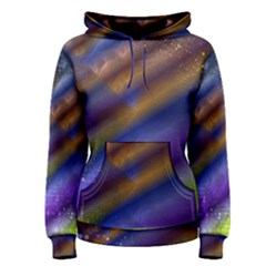 Fractal Color Stripes Women s Pullover Hoodie