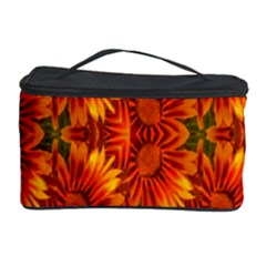 Background Flower Fractal Cosmetic Storage Case