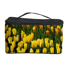 Colorful Tulips In Keukenhof Gardens Wallpaper Cosmetic Storage Case