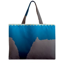 Mariana Trench Sea Beach Water Blue Medium Tote Bag