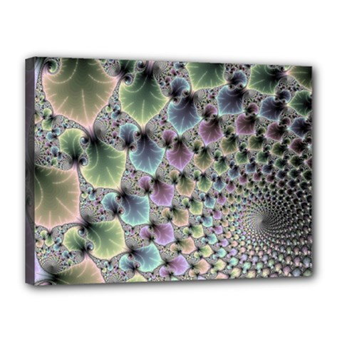 Beautiful Image Fractal Vortex Canvas 16  X 12