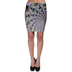 Beautiful Image Fractal Vortex Bodycon Skirt