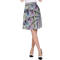 Beautiful Image Fractal Vortex A Line Skirt