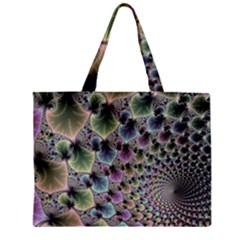 Beautiful Image Fractal Vortex Zipper Mini Tote Bag