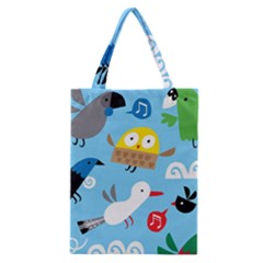 New Zealand Birds Close Fly Animals Classic Tote Bag