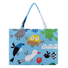 New Zealand Birds Close Fly Animals Medium Tote Bag