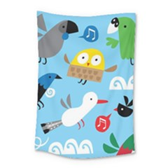 New Zealand Birds Close Fly Animals Small Tapestry