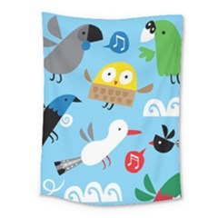 New Zealand Birds Close Fly Animals Medium Tapestry