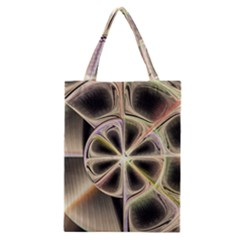 Background With Fractal Crazy Wheel Classic Tote Bag