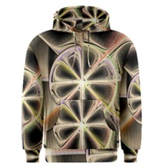 Background With Fractal Crazy Wheel Men s Pullover Hoodie