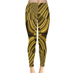 Fractal Golden River Leggings