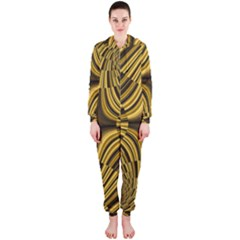 Fractal Golden River Hooded Jumpsuit (ladies)