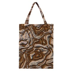 Fractal Background Mud Flow Classic Tote Bag