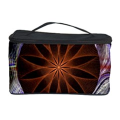 Background Image With Hidden Fractal Flower Cosmetic Storage Case