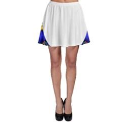 Symmetric Fractal Snake Frame Skater Skirt