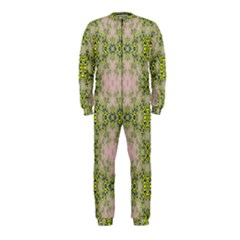 Digital Computer Graphic Seamless Wallpaper OnePiece Jumpsuit (Kids)