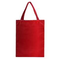Red Gradient Fractal Backgroun Classic Tote Bag
