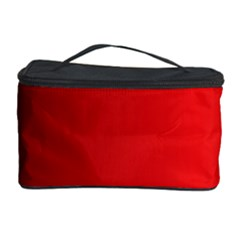 Red Gradient Fractal Backgroun Cosmetic Storage Case
