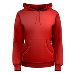 Red Gradient Fractal Backgroun Women s Pullover Hoodie