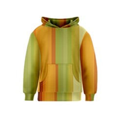 Colorful Citrus Colors Striped Background Wallpaper Kids  Pullover Hoodie