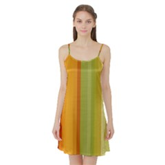 Colorful Citrus Colors Striped Background Wallpaper Satin Night Slip