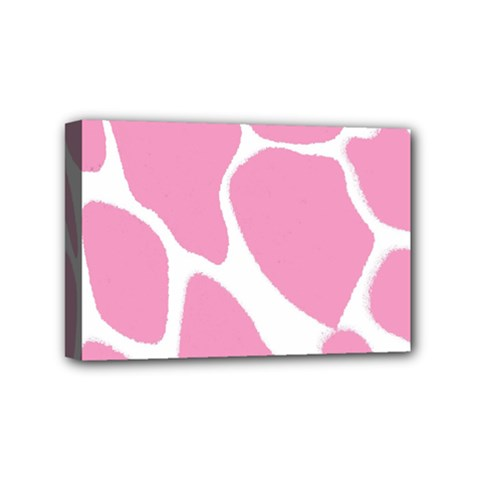 Baby Pink Girl Pattern Colorful Background Mini Canvas 6  x 4