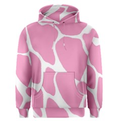 Baby Pink Girl Pattern Colorful Background Men s Pullover Hoodie