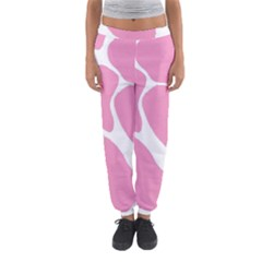 Baby Pink Girl Pattern Colorful Background Women s Jogger Sweatpants