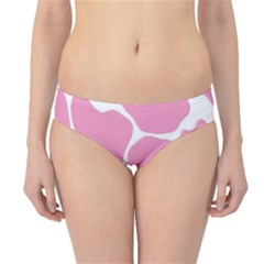 Baby Pink Girl Pattern Colorful Background Hipster Bikini Bottoms