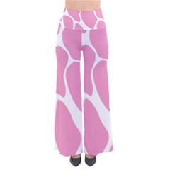 Baby Pink Girl Pattern Colorful Background Pants