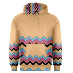 Chevrons Patterns Colorful Stripes Background Art Digital Men s Pullover Hoodie