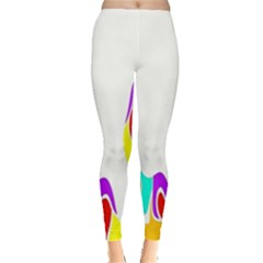 Simple Abstract With Copyspace Leggings