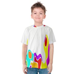 Simple Abstract With Copyspace Kids  Cotton Tee