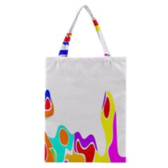 Simple Abstract With Copyspace Classic Tote Bag