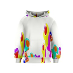 Simple Abstract With Copyspace Kids  Pullover Hoodie