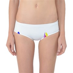 Simple Abstract With Copyspace Classic Bikini Bottoms