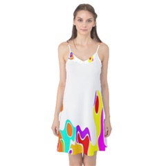 Simple Abstract With Copyspace Camis Nightgown
