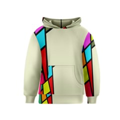 Digitally Created Abstract Page Border With Copyspace Kids  Pullover Hoodie