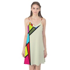Digitally Created Abstract Page Border With Copyspace Camis Nightgown