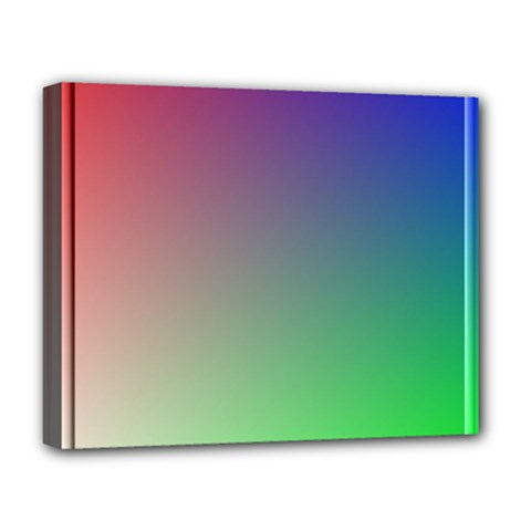 3d Rgb Glass Frame Deluxe Canvas 20  x 16