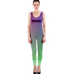 3d Rgb Glass Frame OnePiece Catsuit