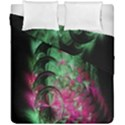 Pink And Green Shapes Make A Pretty Fractal Image Duvet Cover Double Side (California King Size) View1