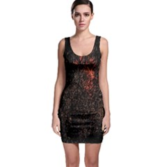 July 4th Fireworks Party Sleeveless Bodycon Dress