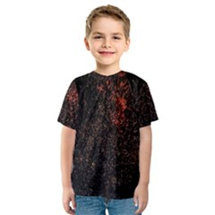 July 4th Fireworks Party Kids  Sport Mesh Tee