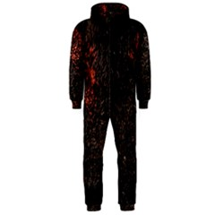 July 4th Fireworks Party Hooded Jumpsuit (Men)