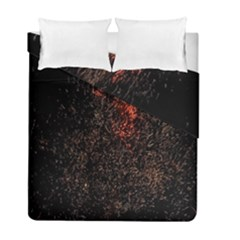 July 4th Fireworks Party Duvet Cover Double Side (full/ Double Size)