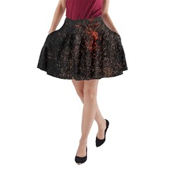 July 4th Fireworks Party A-Line Pocket Skirt