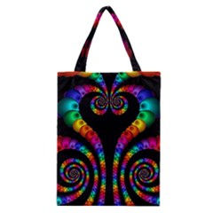 Fractal Drawing Of Phoenix Spirals Classic Tote Bag