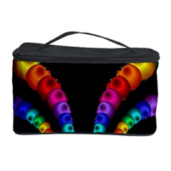 Fractal Drawing Of Phoenix Spirals Cosmetic Storage Case